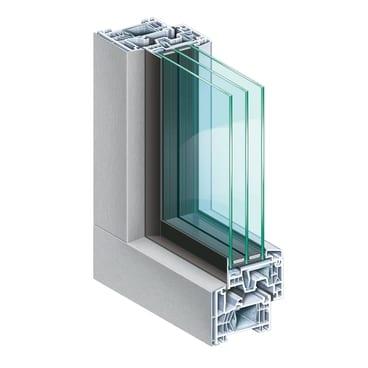 KOEMMERLING-76-MD-AluClip-Zero-Ganzglasoptik-silber